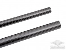 "Carbon Fiber Tube Protector: 1.25"" - 1.50"" X 59"" Length"