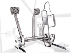 Adjustable Pedal Kit - Clutch, Brake, Cable Operated Gas