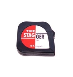 Tire Stagger Tape Measure