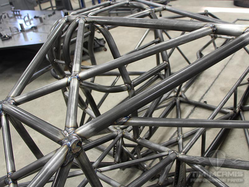 Pro Mod Blown Welded Chassis Double Frame Rail