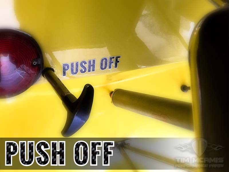 Push Off Decal Carbon