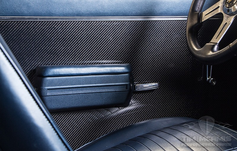 68 72 Nova Carbon Fiber Inner Door Panels