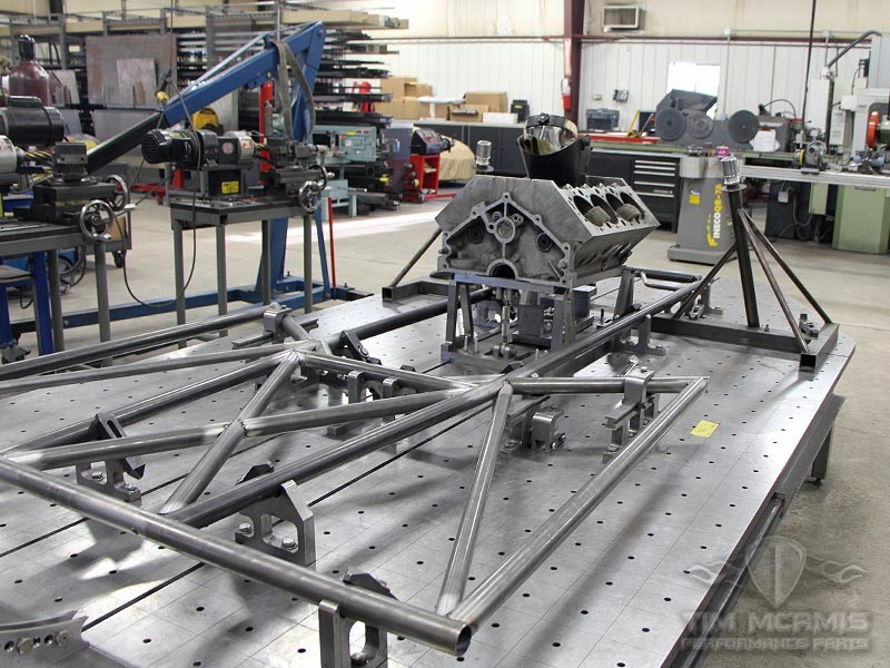 Pro Mod Truck Welded Chassis Double Frame Rail