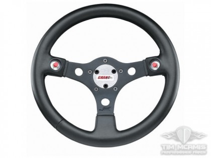 Black Spoke Wheel With Button Holes