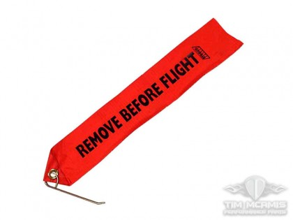 Remove Before Flight Flag With Pin
