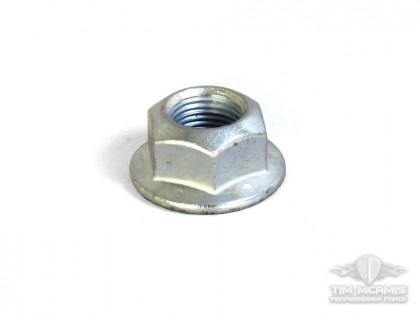 Flanged Steel Drive Nut 5/8-18