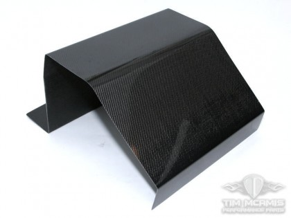 Carbon Fiber Fuel/Oil Tank Cover