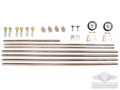"96"" Pro Mod Titanium Wheelie Bar Kit"