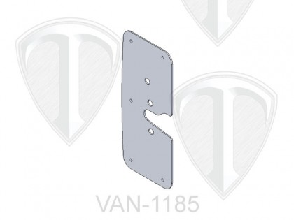 Door Latch Backing Plate