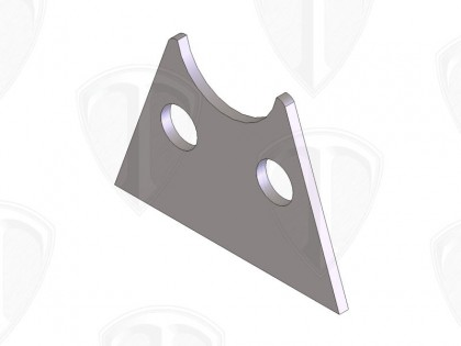 Pedal Cross Shaft Mount (Outer)