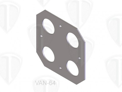 Body Mount Plate