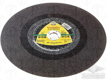 "14"" x 1/8"" x 1"" S/S Cutting Wheel"