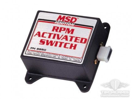 RPM Activated Switch