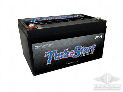 TurboStart Light Weight 16V Battery