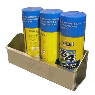 4 Aerosol Can Shelf