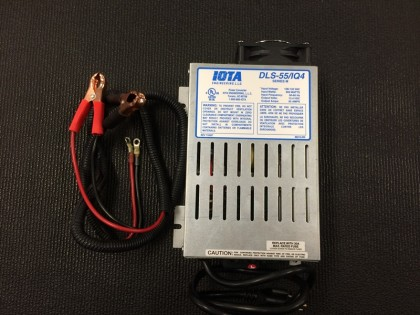 12 V Battery Charger & Cables