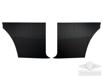 '66-67 Chevy II Carbon Fiber Inner Quarter Panels