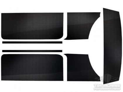 '66-67 Chevy II Carbon Fiber Interior Kit