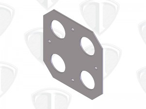 TI Body Mount Plate