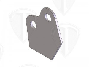 Wheelie Bar Pin Plate