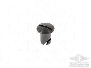 .500 Alum. Oval Head (7/16) Dzus Fastener (Black)