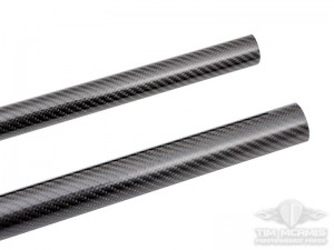 "Carbon Fiber Tube Protector: 1.625"" - 2"" X 59"" Length"