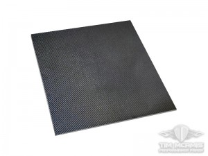 "3'X3' Carbon Fiber Sheet (0.125"" Thick)"