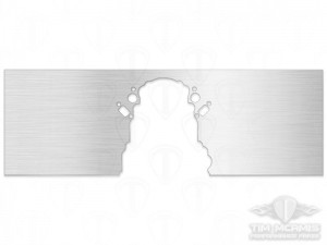 Chevy LS Motor Plate: Blank